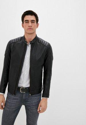 Куртка кожаная Boss Jeean 1. Цвет: черный