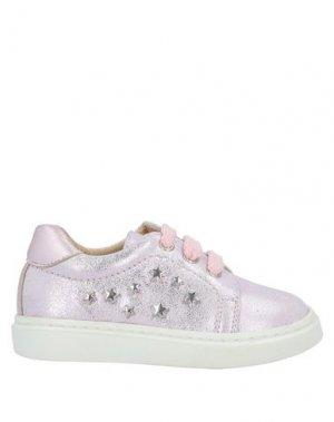 Кеды и кроссовки CLARYS. Цвет: светло-розовый