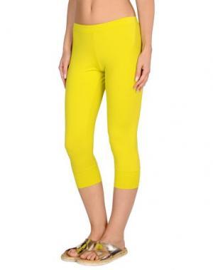 Пляжные брюки и шорты VDP BEACH. Цвет: желтый