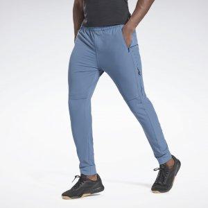 Спортивные брюки Performance Reebok. Цвет: brave blue