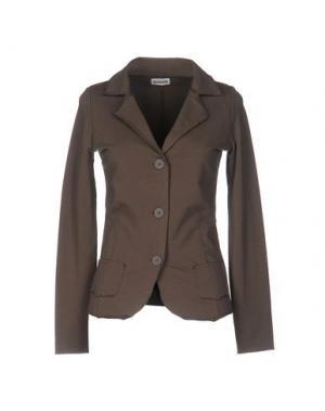 Пиджак ALPHA STUDIO. Цвет: темно-коричневый