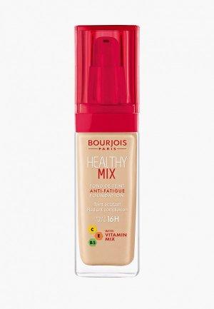 Тональное средство Bourjois Healthy Mix Foundation, 52 Vanilla, 30 мл. Цвет: бежевый