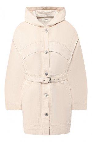 Джинсовая куртка Isabel Marant Etoile. Цвет: кремовый