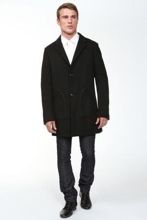 Пальто Edun. Цвет: черный