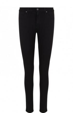 Однотонные джинсы-скинни Ag. Цвет: чёрный