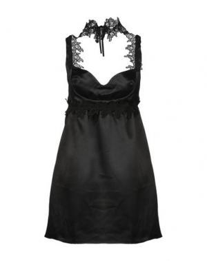 Короткое платье LOST INK. Цвет: черный