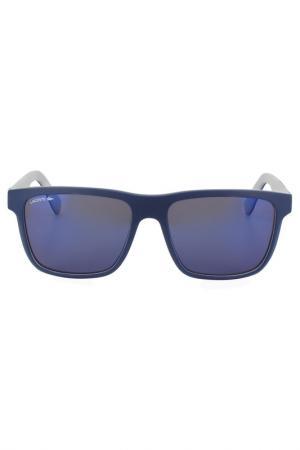 Очки солнцезащитные Lacoste. Цвет: мультицвет