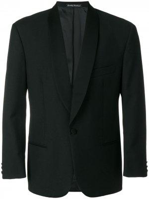 Пиджак со структурированными плечами Emanuel Ungaro Pre-Owned. Цвет: черный