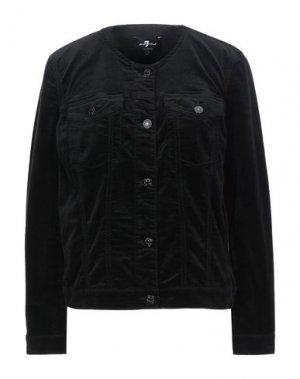 Pубашка 7 FOR ALL MANKIND. Цвет: черный