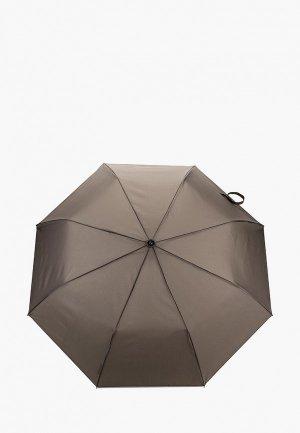Зонт складной Zemsa. Цвет: серый
