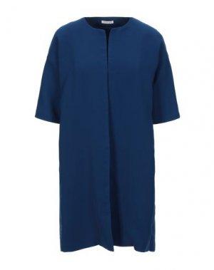 Легкое пальто EMMA & GAIA. Цвет: синий