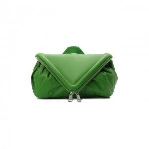 Поясная сумка Beak Bottega Veneta. Цвет: зелёный
