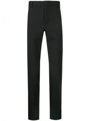 Классические брюки с заниженной талией Saint Laurent. Цвет: черный