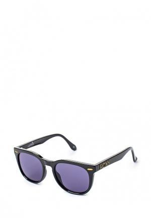Очки солнцезащитные Roxy LITTLE VENICE. Цвет: черный