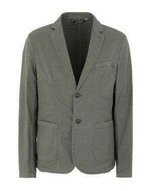 Пиджак MARKUP. Цвет: зеленый-милитари