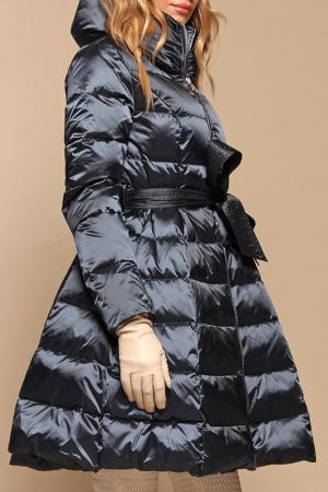 Пальто Naumi. Цвет: петрол