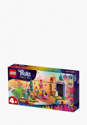 Конструктор LEGO Trolls 41253 Приключение на плоту в Кантри-тауне. Цвет: разноцветный