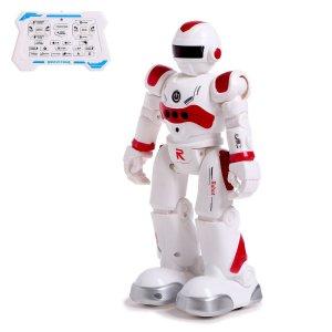 Робот-игрушка радиоуправляемый iq bot gravitone, русское озвучивание, цвет красный WOOW TOYS