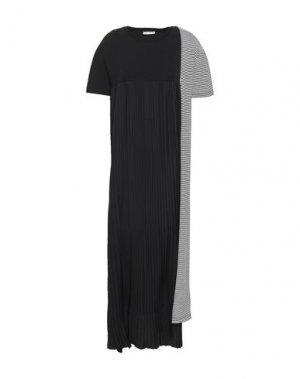 Длинное платье EACH X OTHER. Цвет: черный