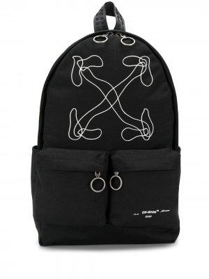 Рюкзак с логотипом Arrows Off-White