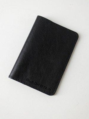 Обложка на паспорт BS Black Star Wear. Цвет: черный