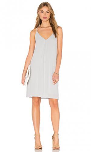 Мини платье cami Lanston. Цвет: синий