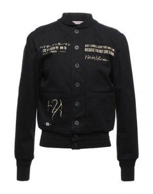 Куртка HAIDER ACKERMANN. Цвет: черный
