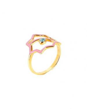 Кольцо LEIVANKASH. Цвет: розовый