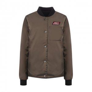 Куртка Garage Harley-Davidson. Цвет: коричневый