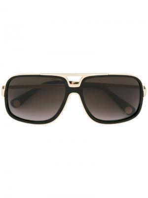 Солнцезащитные очки в квадратной оправе Marc Jacobs. Цвет: чёрный