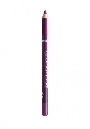 Карандаш для глаз Seventeen водостойкий т.52  Super Smooth W/P&Longstay Сливовый. Цвет: бордовый