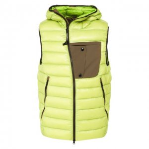 Пуховый жилет C.P. Company. Цвет: зелёный