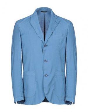 Пиджак HEVÒ. Цвет: пастельно-синий