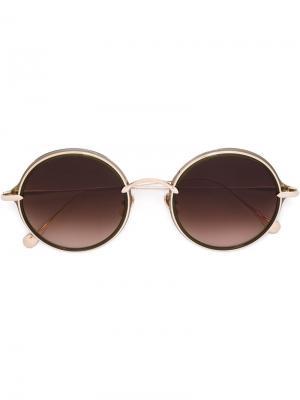 Солнцезащитные очки Ice Cream Dive Frency & Mercury. Цвет: металлический