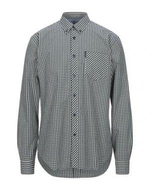 Pубашка BEN SHERMAN. Цвет: светло-зеленый