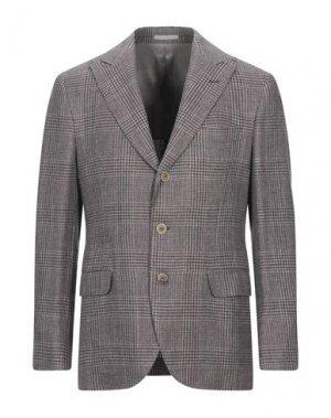 Пиджак BRUNELLO CUCINELLI. Цвет: баклажанный