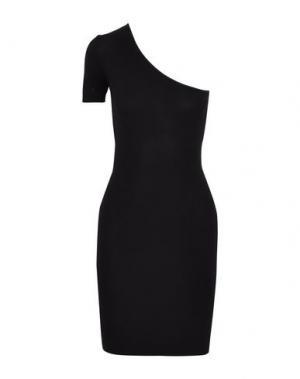 Короткое платье ENZA COSTA. Цвет: черный
