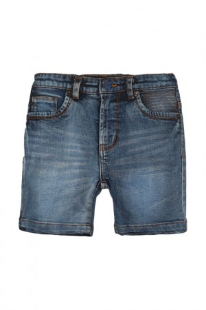 Джинсовые шорты Minoti. Цвет: джинсовый