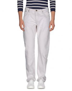 Джинсовые брюки BURBERRY. Цвет: белый