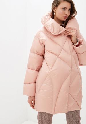 Пуховик Add. Цвет: розовый