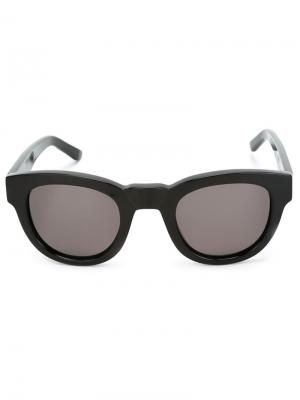 Солнцезащитные очки Type 04 Sun Buddies. Цвет: чёрный