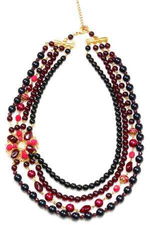 Ожерелье Bohemia Style. Цвет: красный