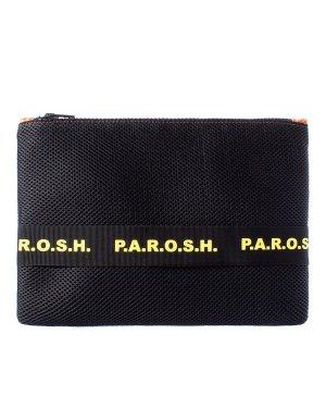 Клатч NETBAG050171 UNI черный P.A.R.O.S.H.. Цвет: черный