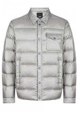 Куртка ADD. Цвет: серый