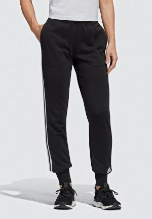 Брюки спортивные adidas W MH 3S PANT. Цвет: черный