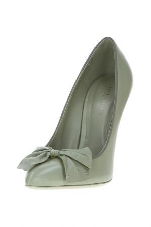 Туфли Bottega Veneta. Цвет: зеленый