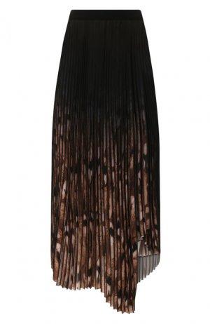 Плиссированная юбка By Malene Birger. Цвет: чёрный