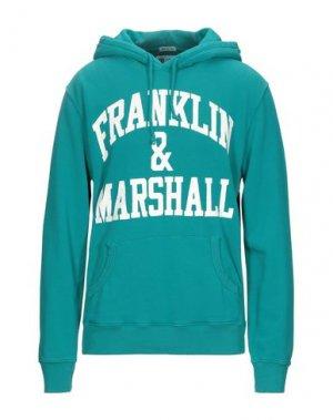 Толстовка FRANKLIN & MARSHALL. Цвет: изумрудно-зеленый