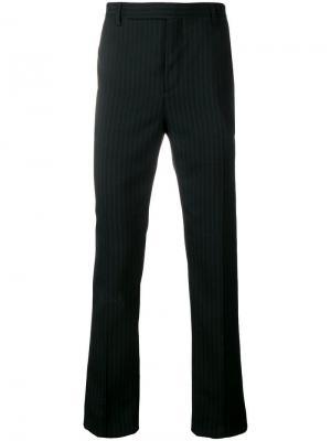 Классические брюки в полоску Saint Laurent