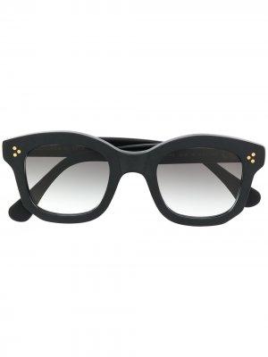 Солнцезащитные очки Athos в квадратной оправе Epos. Цвет: черный